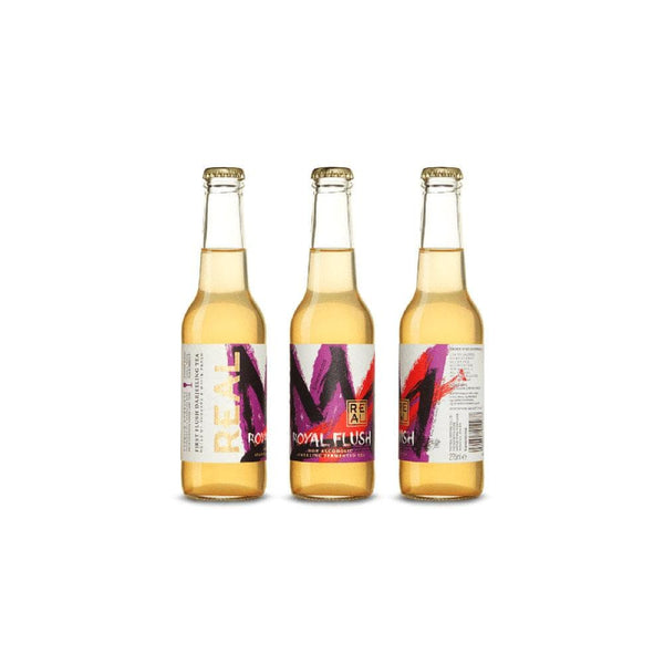 Real Kombucha - Mixed (Dry Dragon, Royal Flush (330ml))