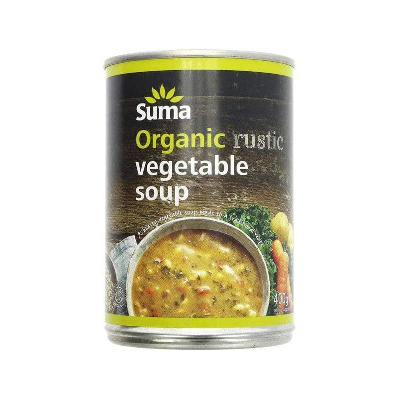 Suma Organic Rustic Vegetable Soup (400g) - Live Well