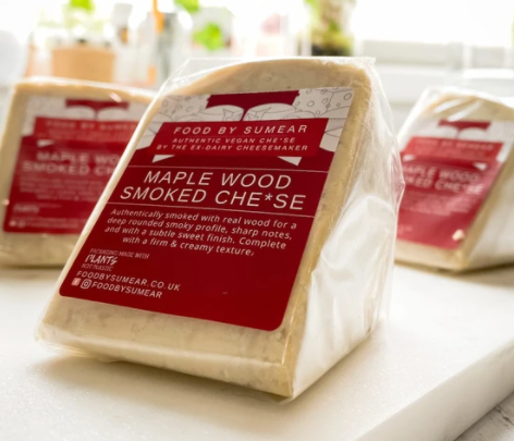 Food By Sumear: Maple Wood Smoked Cheese (115g-124g)