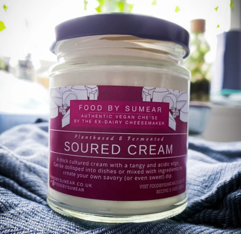 Food By Sumear: Soured Cream - Plant Based & Cultured (160g)
