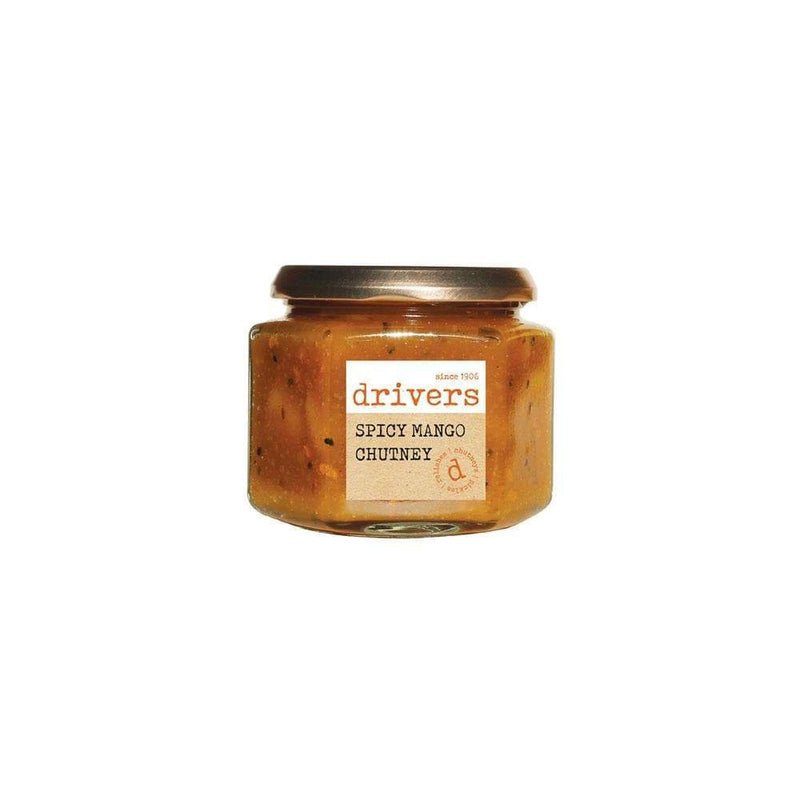 Drivers Spicy Mango Chutney (350g) - Live Well