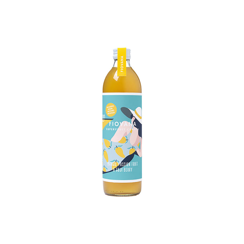 Fiovana Mango, Passion Fruit and Goji Berry Superfruit Cordial (500ml)