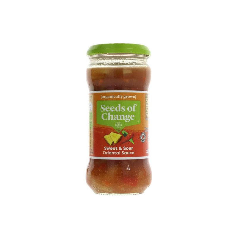 Seeds of Change Organic Sweet and Sour Cooking Sauce (350g)