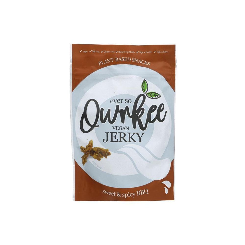 Qwrkee Sweet and Spicy BBQ Jerky (70g)