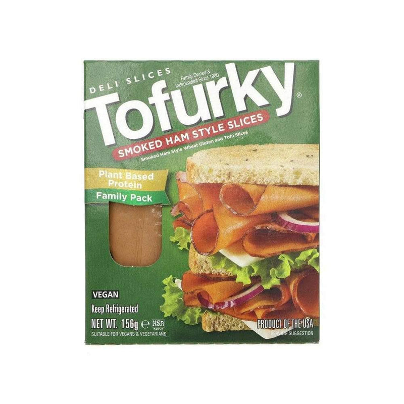 Tofurky Smoked Ham Style Deli Slices (156g) - Live Well