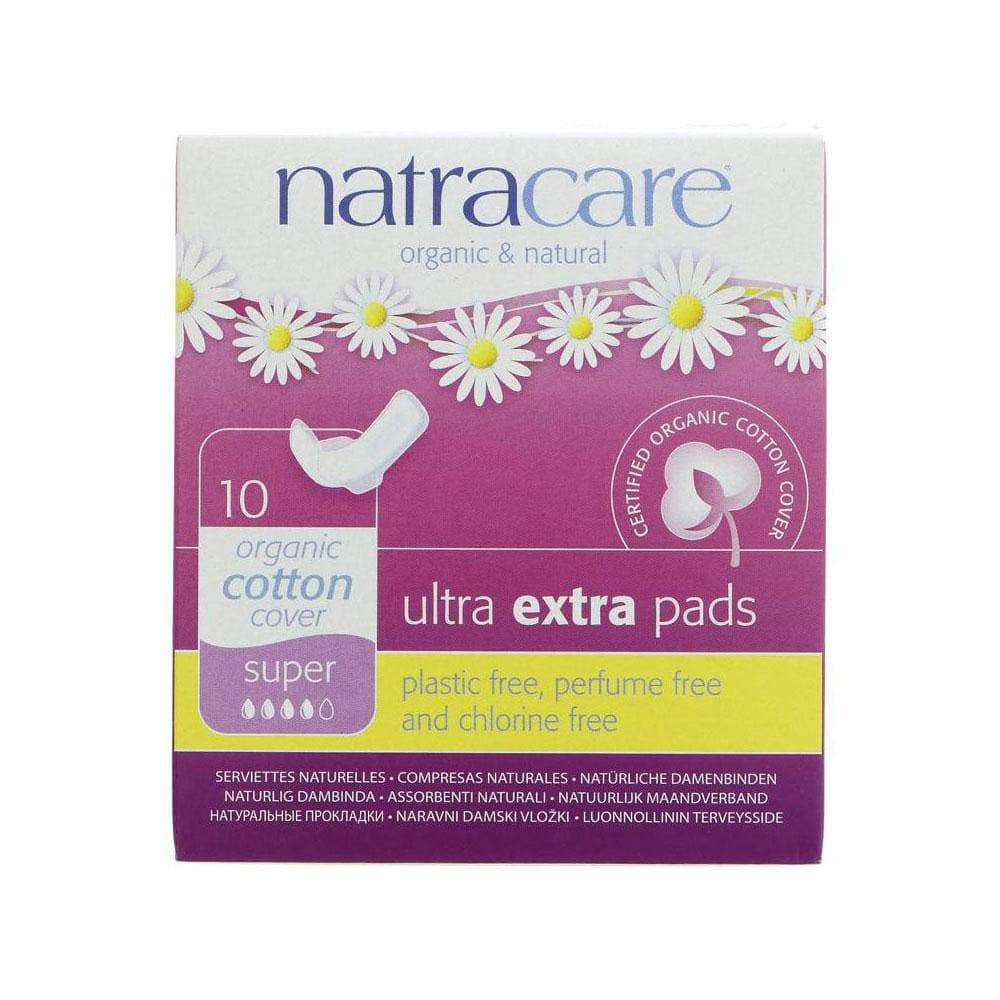 Organic Ultra Extra Super Tampons,Tampons,Natracare