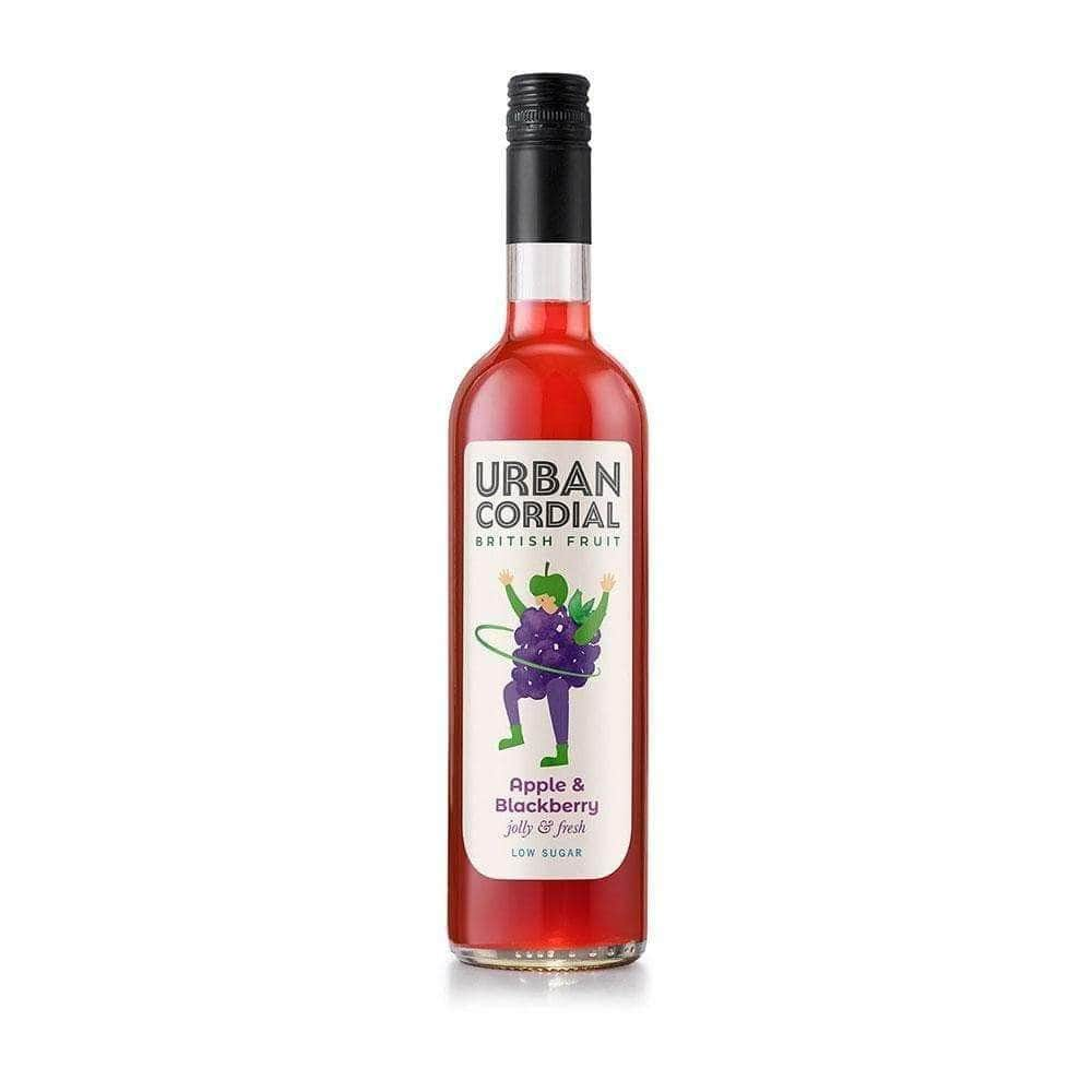 Urban Cordial Apple and Blackberry (500ml) - Live Well