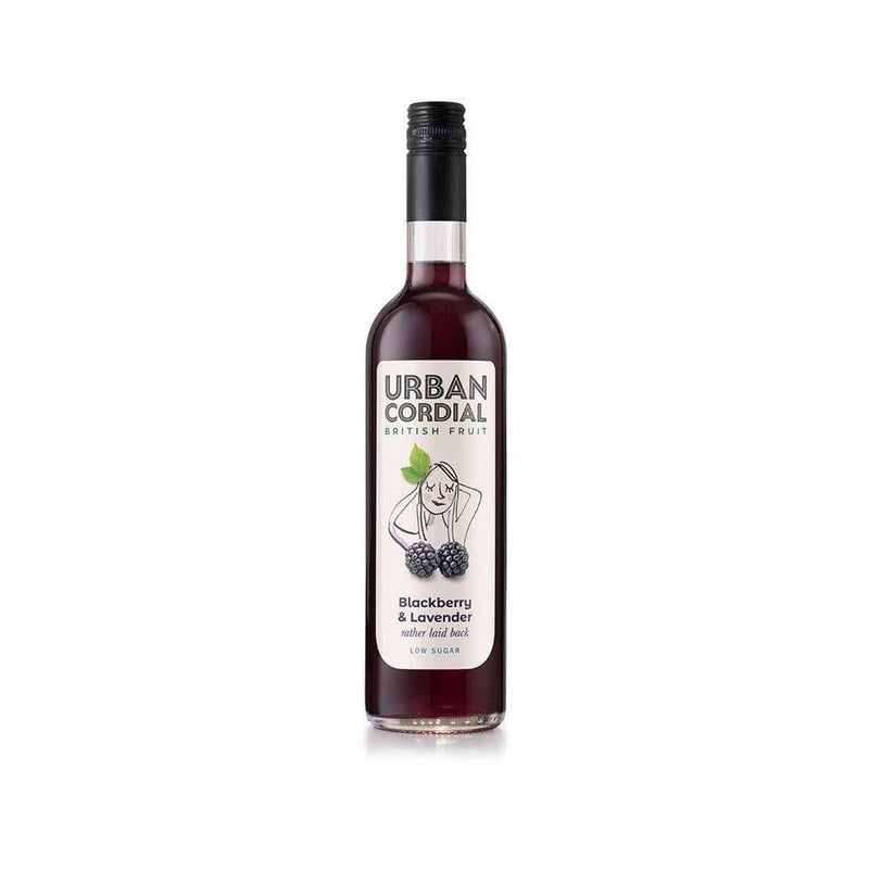 Urban Cordial Blackberry and Lavender (500ml) - Live Well