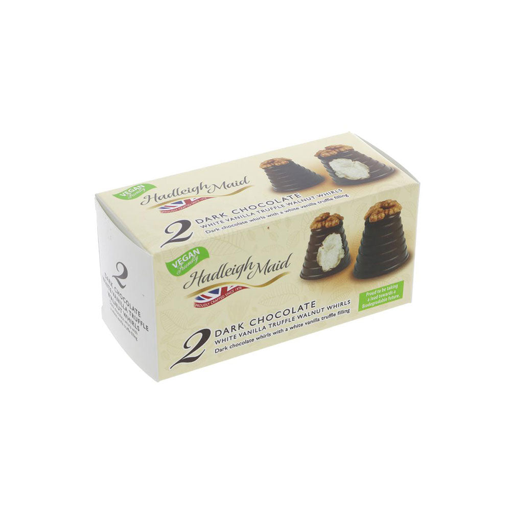 Hadleigh Maid Dark Chocolate Vanilla Walnut Whirls (90g)