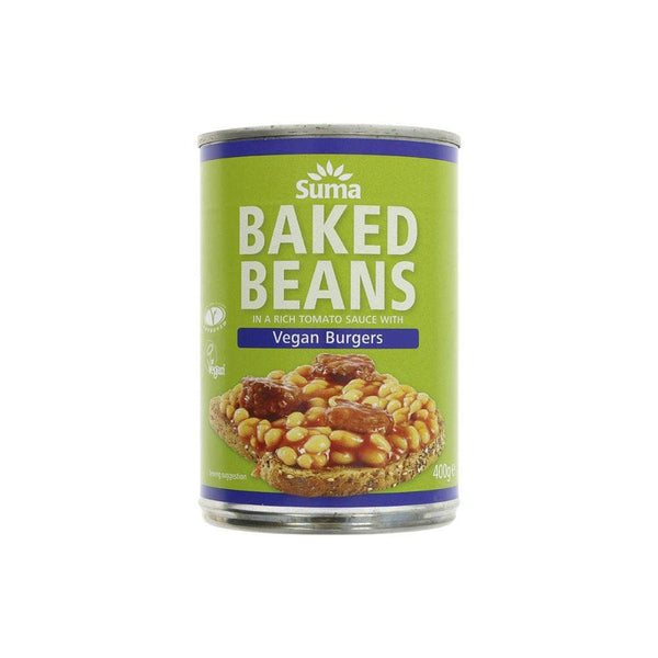 Baked Beans and Vegan Burgers