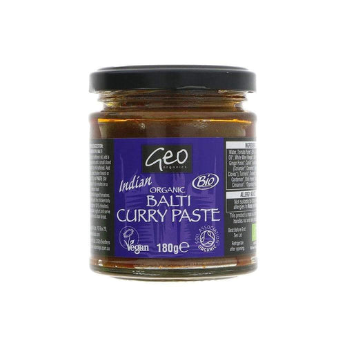 Organic Balti Curry Paste,Curry Paste,Geo Organics