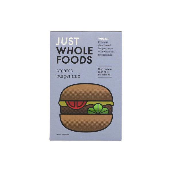Just Wholefoods Burger Mix (125g)