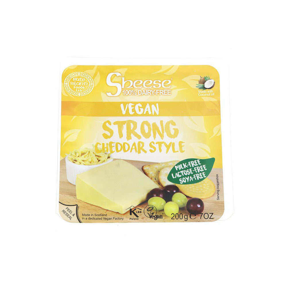 Bute Island Strong Cheddar Wedge Cheese (200g)