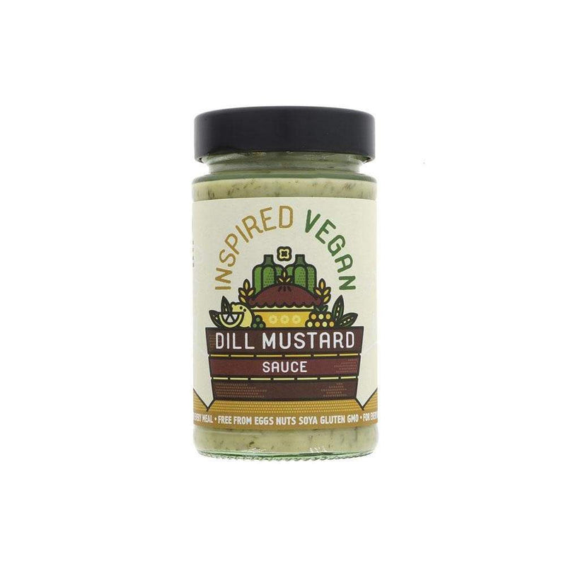 Inspired Vegan Dill Mustard Sauce (200g) - Live Well
