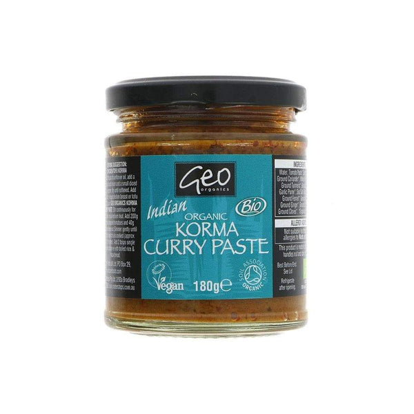 Organic Korma Paste,Curry Paste,Geo Organics