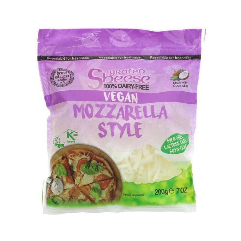 Bute Island Grated Mozzarella Style Vegan Cheese (200g) - Live Well