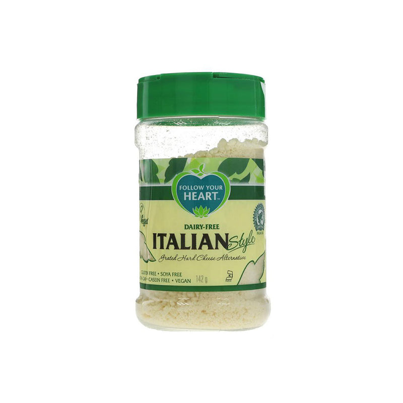 Follow Your Heart Grated Parmesan Vegan Cheese (142g)