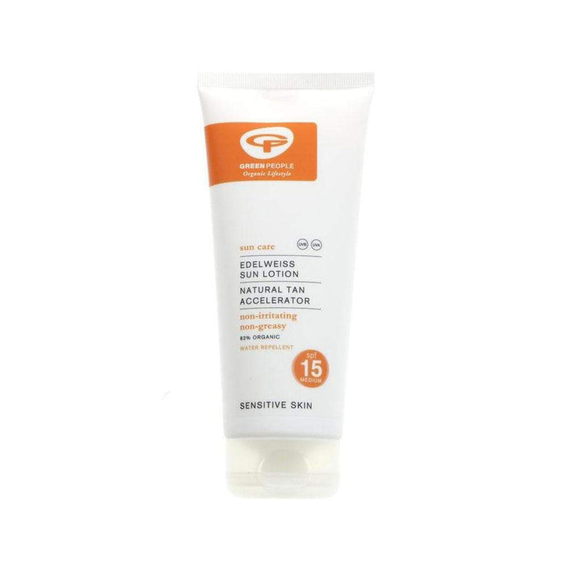 Green People Company Sun Lotion SPF 15 (200ml) - Live Well