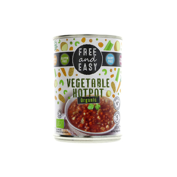 Free and Easy Vegetable Hotpot (400g)