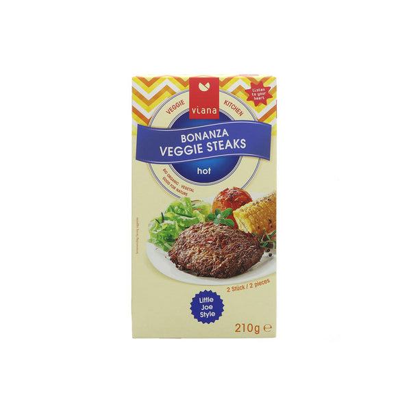 Viana Bonanza Hot Veggie Steaks (210g)