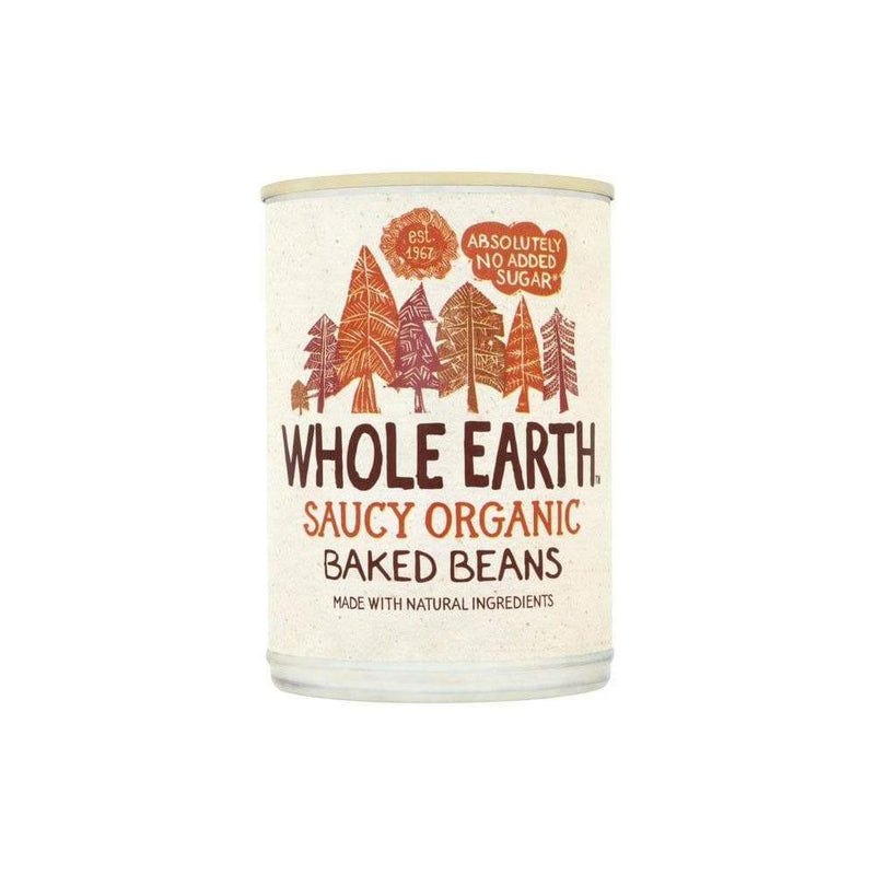 Whole Earth Organic Baked Beans (400g) - Live Well