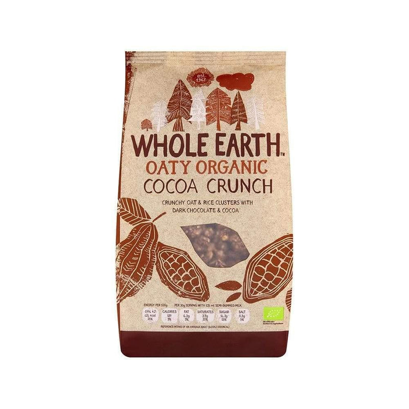 Whole Earth Organic Cocoa Crunch (375g) - Live Well
