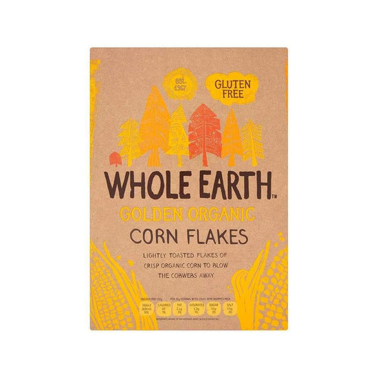Whole Earth Corn Flakes,Cereal,Whole Earth