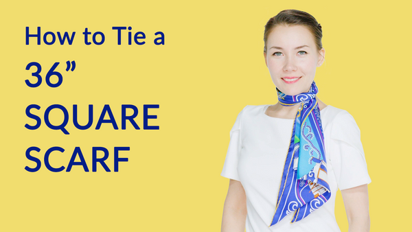 Pleated Tie - Mongolian Bowls Scarf