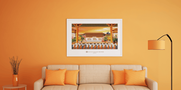 Tang Dynasty Grace Poster