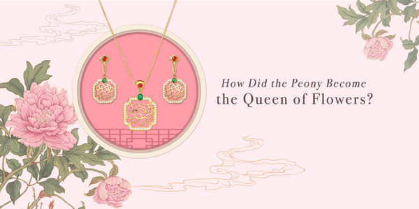 The Legend of How the Peony Became the Queen of Flowers