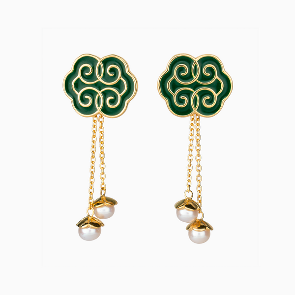 Ruyi Earrings - Shen Yun Shop