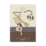 Sweeping out the Tyrant Bookmark - Shen Yun Collections