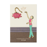 Handkerchiefs in Flight Bookmark - Shen Yun Collections