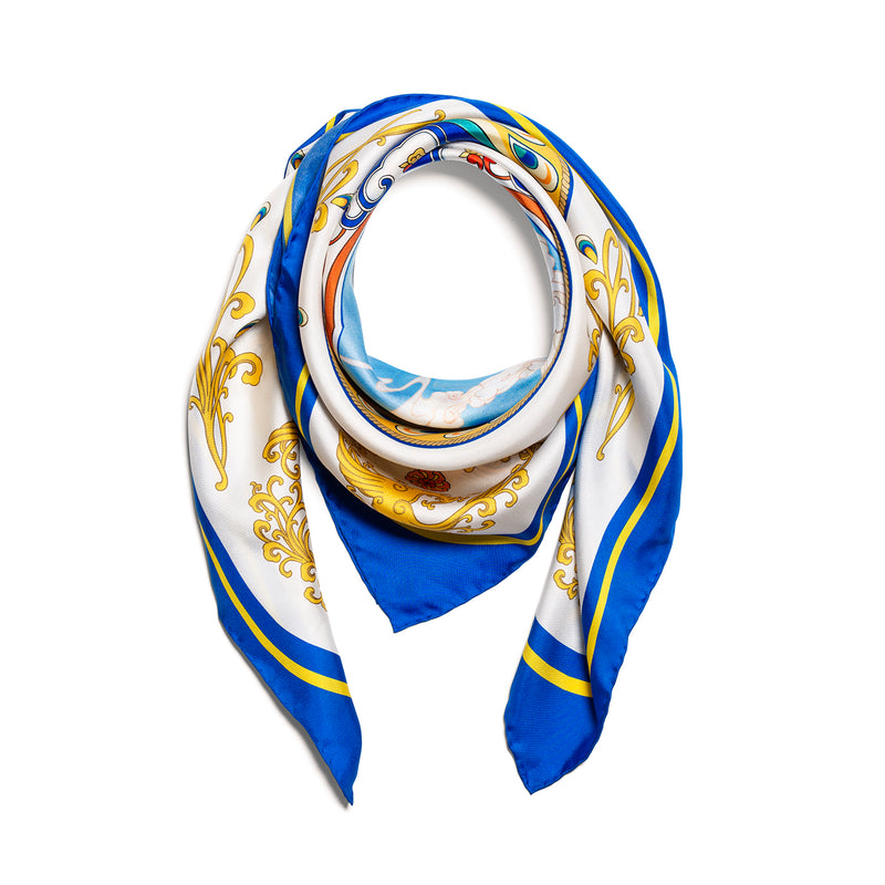 Phoenix of the Sapphire World Scarf - Shen Yun Collections