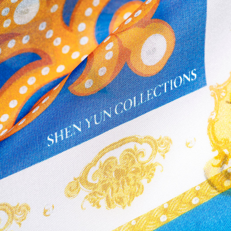 Mongolian Hospitality Silk Scarf - Shen Yun Collections