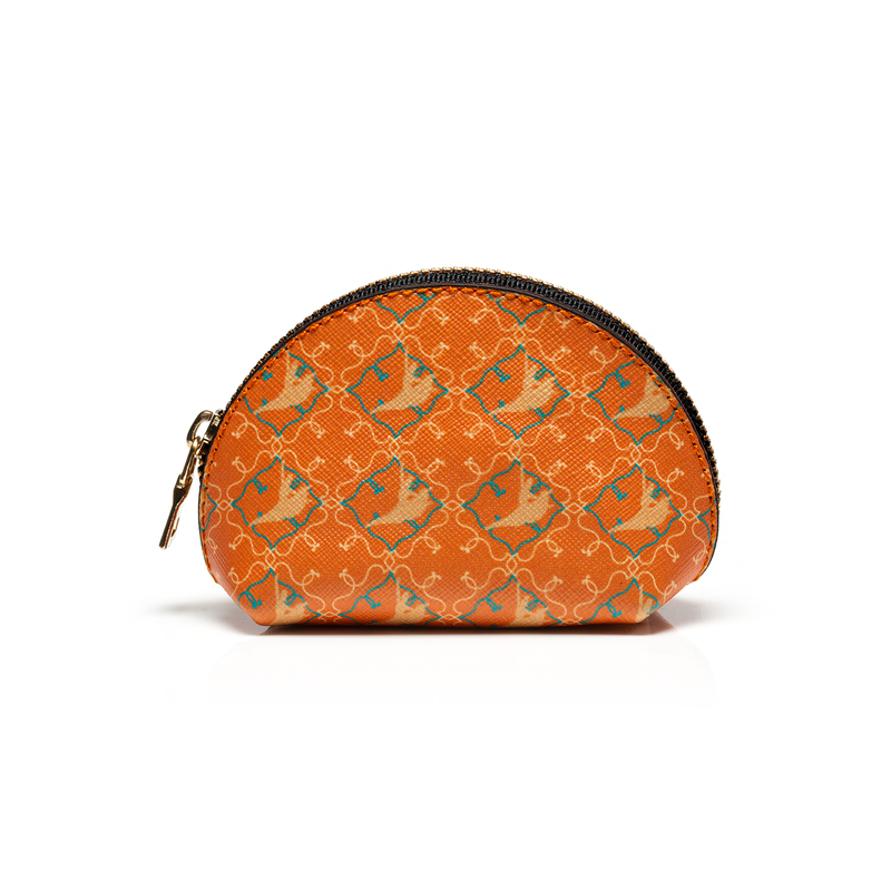 SIGNATURE Coin Purse - Orange - Shen Yun Shop