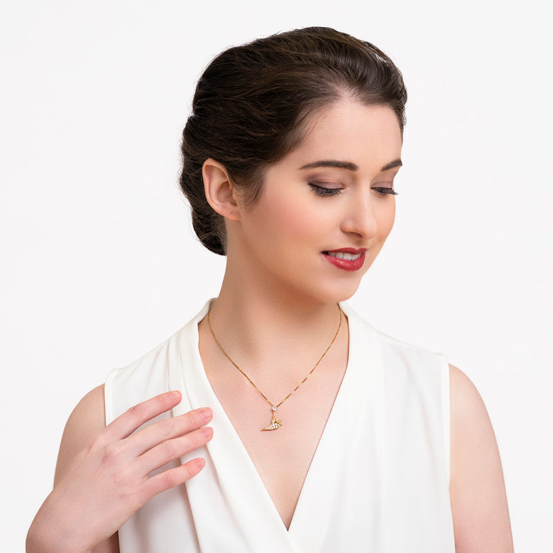 Signature Necklace - Gold - Shen Yun Shop