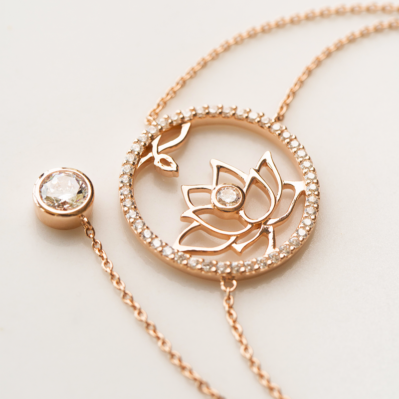 Lotus Fairies Necklace