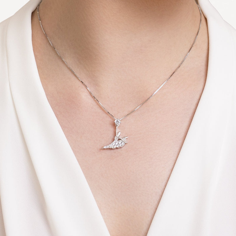 Signature Necklace - Silver - Shen Yun Shop