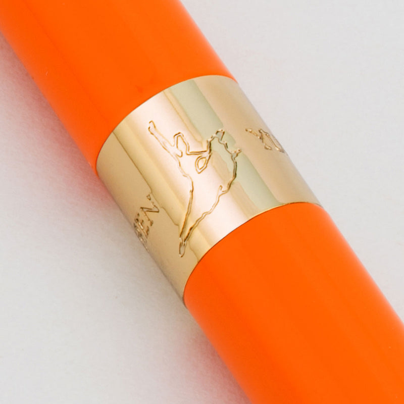 Crystal Ballpoint Pen - Orange - Shen Yun Shop