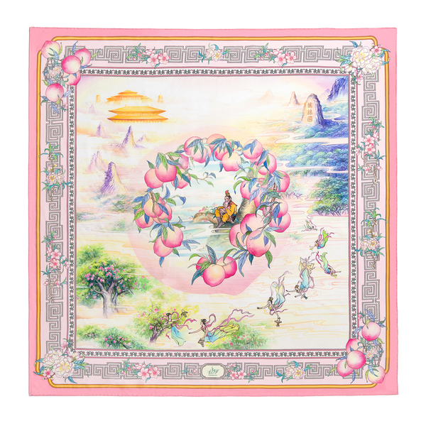 The Peaches of Immortality Scarf - Shen Yun Shop