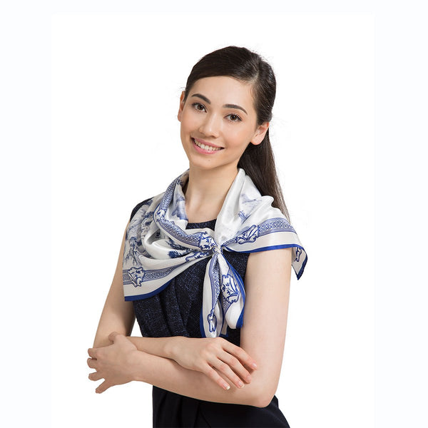 Poets of the Orchid Pavilion Scarf - Shen Yun Shop