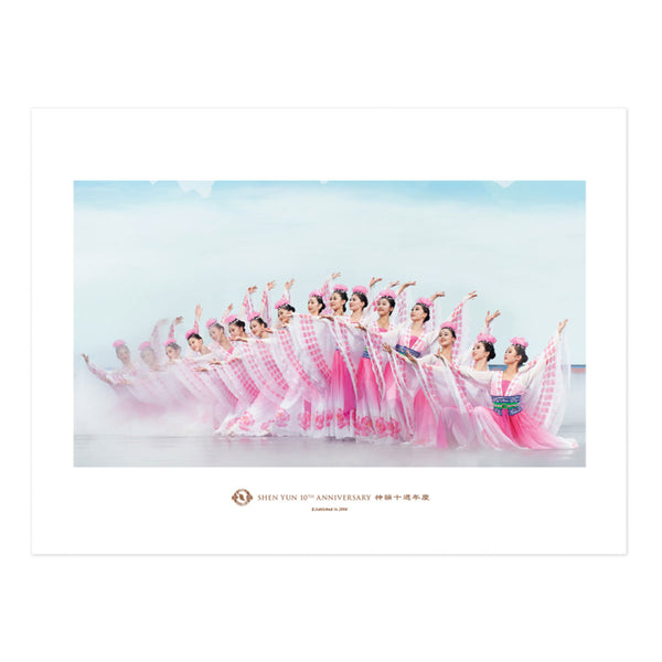 Shen Yun 10th Anniversary Prints - Flower Fairies - Shen Yun Shop