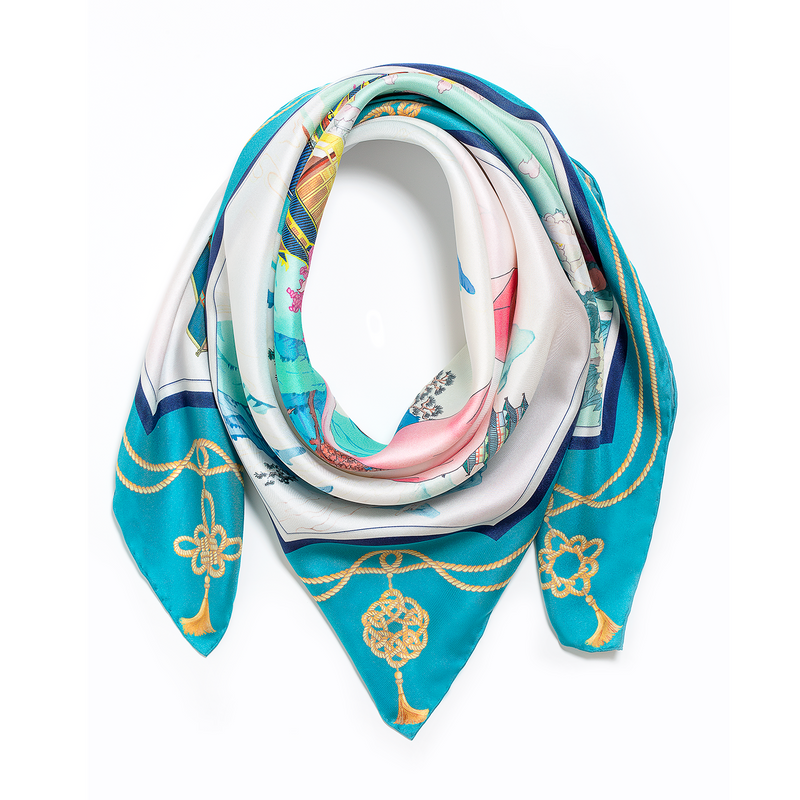 Delicate Beauty of the Han Scarf