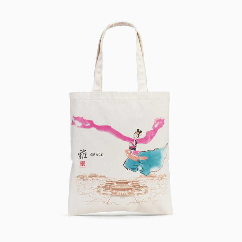 Sleeves of the Tang Palace Canvas Ecobag