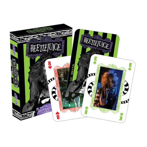 Beetlejuice Playing Cards - [evil-amy-s-terror-shop]