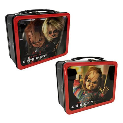 Child's Play Bride of Chucky Tin Tote - [evil-amy-s-terror-shop]