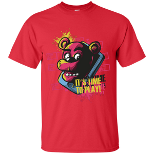 Five Nights At Freddys It's Time To Play Youth T-Shirt - [evil-amy-s-terror-shop]