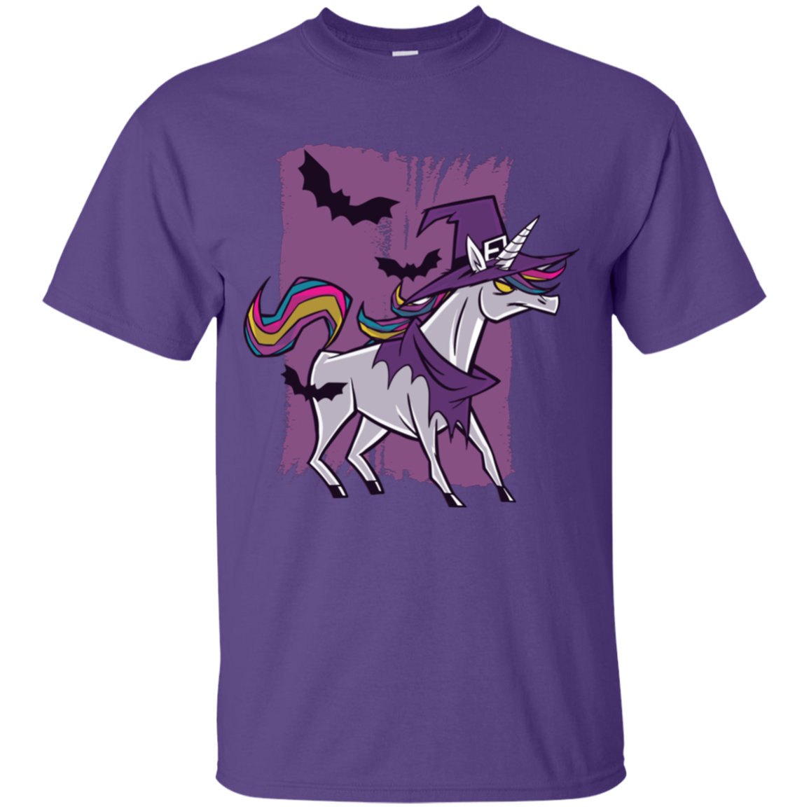 Witch Unicorn Youth T-Shirt - [evil-amy-s-terror-shop]