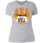 I Put A Spell On You Ladies Boyfriend T-Shirt - [evil-amy-s-terror-shop]